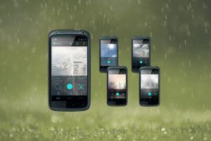 Amazing Widgets for Android Ecran Animatie Vreme