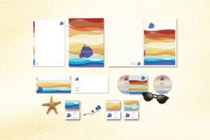 Crazy Beach Mamaia Identitate Vizuala Print