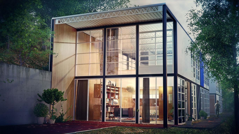 Charles Eames The Eames House