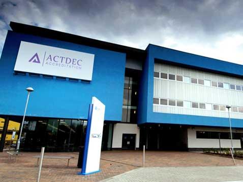 actdec cambridge logo design