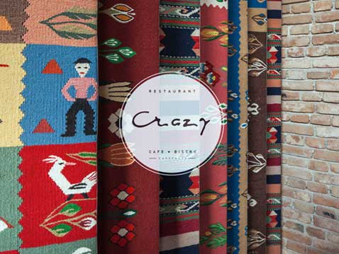 corporate branding, web design Crazy Cafe Constanta
