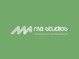 MA Studio logo design