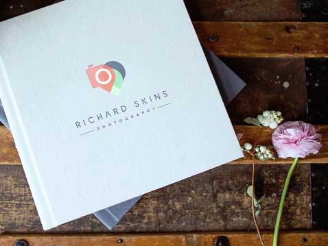 logo design, corporate branding, web design Richard Skins